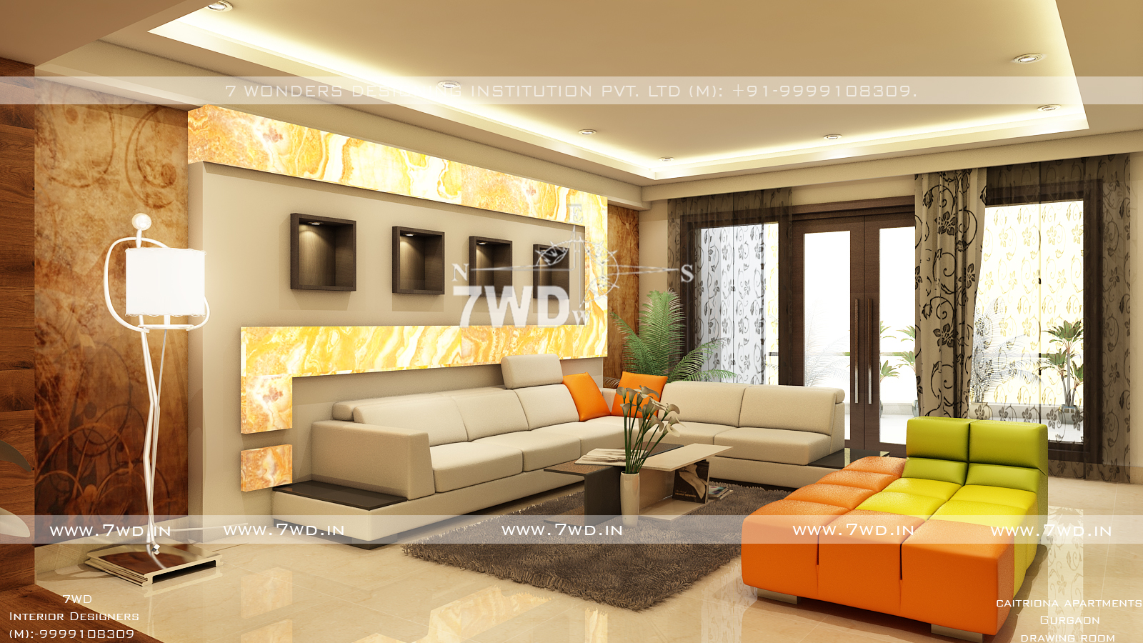 Interior design for residential house for Residential interior designs